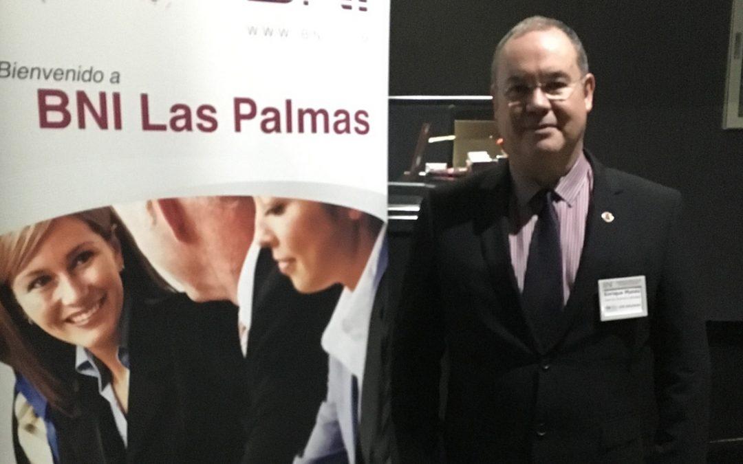 Enrique Mateu es el nuevo RRPP de BNI LPA Soluciones