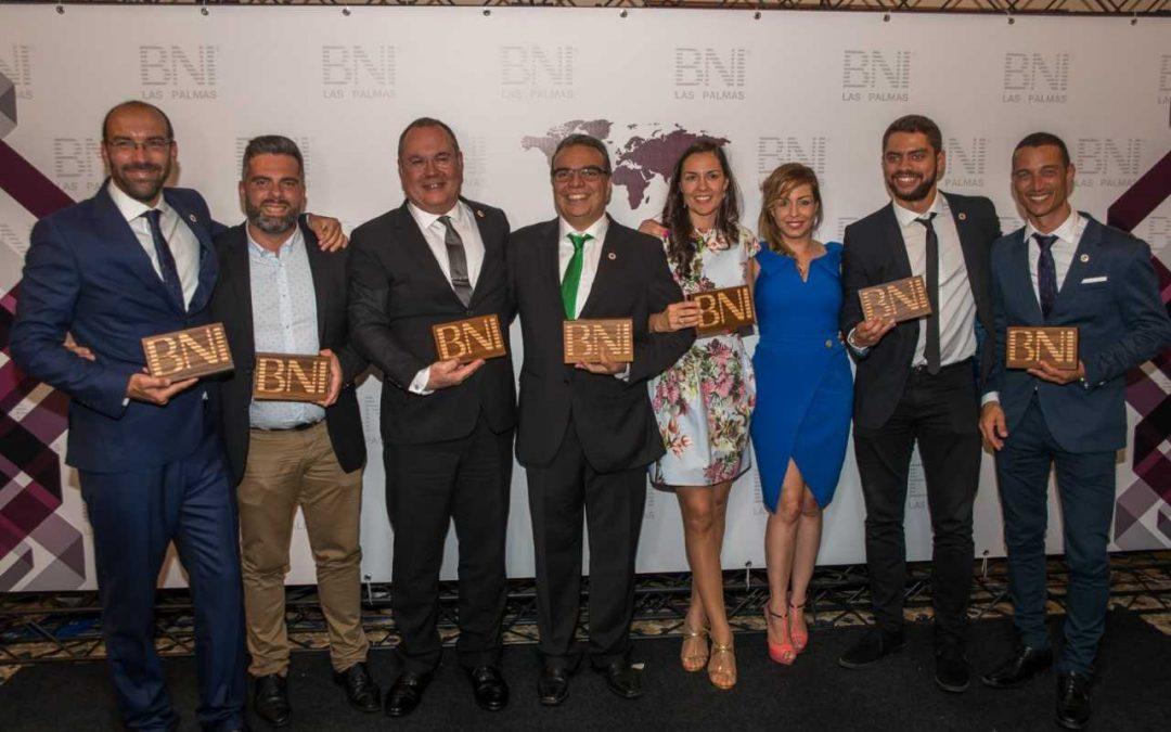 Más de un centenar de empresas se reúnen en la primera gala BNI Las Palmas